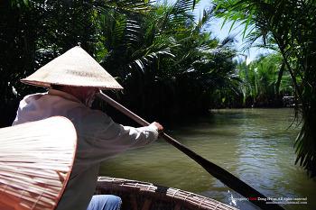 베트남 다낭 - 호이안 투본강 코코넛보트 투어, 전통시장 구경, 전통요리 체험