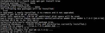 [리눅스]tree 명령어