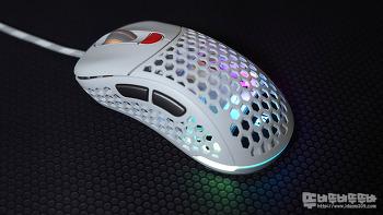 초경량 제닉스 타이탄 G Air 화이트 게이밍 마우스