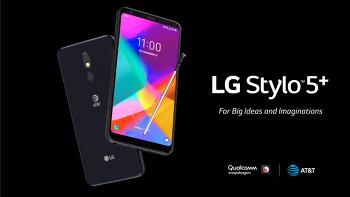LG - 전/후면 카메라가 업그레이드된 스타일로5+ 발표