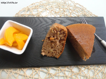 계피 내음 솔솔 잣 핫케이크, 밥솥 홈베이킹