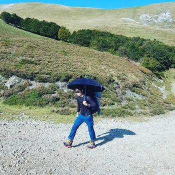 우산 구멍 자가 수리(나일론 테이프)