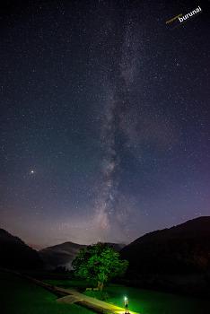 Milky way 은하수를 위해서 니콘 14-24 렌즈 DYI 후드 만들기