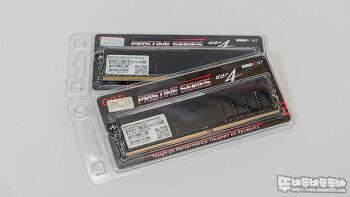 오버가 필요없는 GeIL DDR4 8G PC4 25600 Pristine 메모리