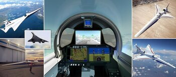 NASA가 개발 중인 창문 없는 조종석 초음속 비행기 '콩코드의 아들' VIDEO: Would you fly in a 1,100MPH jet with NO front window? Pilots controlling NASA's 'silent' supersonic plane dubbed the 'son of concord' will use cameras and..