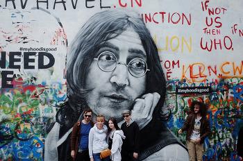 프라하 레논 벽