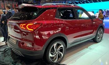 쌍용자동차 SUV 2019 코란도였어!! 연비와 편의사양과 안전사양보다 디자인이 확 깨네