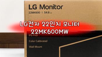 LG전자 22인치 모니터 22MK600MW