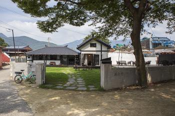 [남해] 남해 상주의 새로운 감성 카페 - 남해촌집 화소반