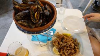[여행기] 마드리드 야경 그리고 얼큰한 홍합 맛집 (먹자골목)