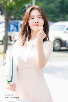[2019.05.15] 드라마 <절대그이> 제작발표회 출퇴근 방민아 직찍 by. 문스