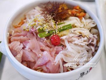속초여행 속초맛집 리뷰 II _ 섭해장국 물회 오징어순대 문어국밥