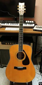 올드 야마하 L-8 전기형 77년산 올솔리드 어쿠스틱 기타