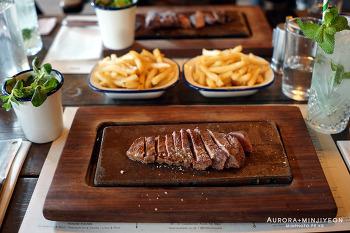 영국 런던 여행, 내 입 맛에 딱 좋은 런던 스테이크 맛집 '플랫 아이언 Flat Iron'