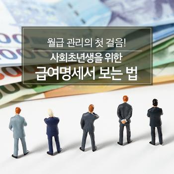 월급 관리의 첫 걸음! 사회초년생을 위한 급여명세서 보는 법
