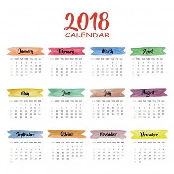 2018년 달력 파일/2018년 달력 출력/2018년 달력 다운로드