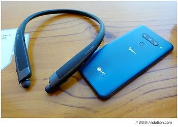 LG전자 톤플러스 HBS-2000, 전화통화가 많은 회사원을 위한 넥밴드