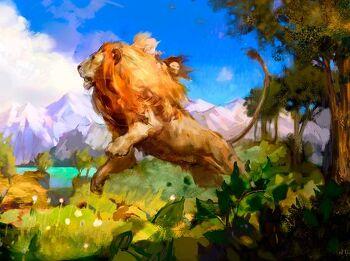 아슬란, 유다의 사자 (나니아 영성 이야기 4)