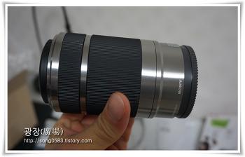 [소니카메라/망원렌즈] SONY E마운트(55-210 F4.5-6.3) 실버 완벽하네요^^