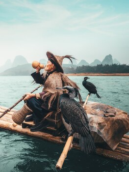 Interview: Travel Photographer Highlights China's Traditional Cormorant Fishing