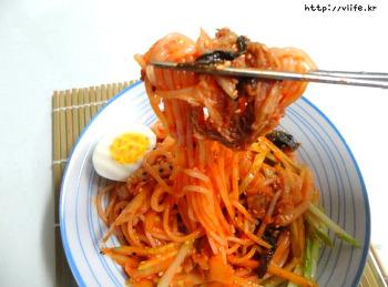 김치 비빔 쫄면, 쫄면의 변신은 무죄