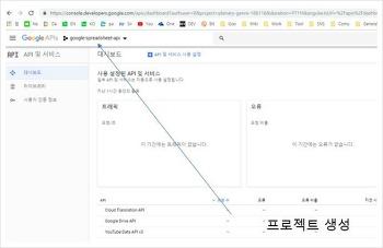 구글 API 사용법, 키 발급, OAuth 인증 방법 정리