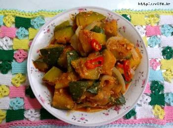 토하젓 호박 볶음, 안먹는 새우젓 맛있는 활용