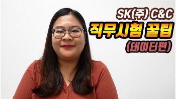SK(주) C&C '직무역량 테스트 꿀팁' (데이터편)