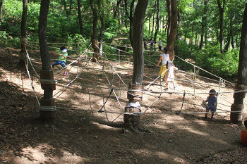 아이들이 좋아하는 파주 율곡수목원