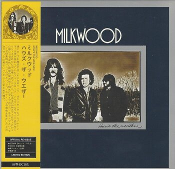 MILKWOOD, 세계 최초로 CD화 된 카스의 전신 그룹