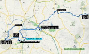 신성교통 교하영업소 7500번 버스 (교하숲속길마을-운정보건지소,행복센터-운정역,봉일천시장-광탄,마장호수)