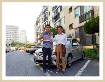 #대전중고차 #베르나트랜스폼 구입 #아파트재개발구역 #비오는날중고차