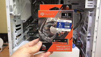 씨게이트 파이어쿠다 520 1TB M.2 PCIe Gen4 5000MB/sec 가장 빠른 SSD 리뷰