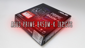 ASUS PRIME B450M-K 대원CTS 메인보드