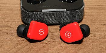 마스터앤다이나믹 MW07 Go IPX6 방수 뛰어도 편안한 블루투스 이어폰