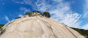 밀양 백운산 좌벽 파노라마