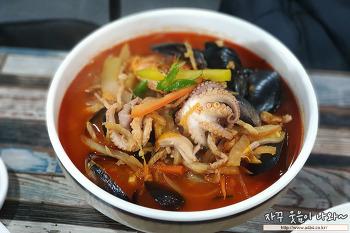 왕짬뽕 : 경인교대 인천 계산삼거리 중국집 맛집