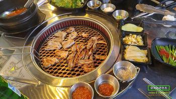 [먹방콘텐츠] 마곡나루역 맛집 숯불닭갈비 마곡나루본점