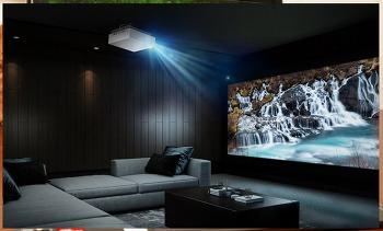 엘지 시네빔 레이저4K(HU810P)로 거실을 영화관으로!! 4K해상도의 최대 화면 크기 최대 밝기는?