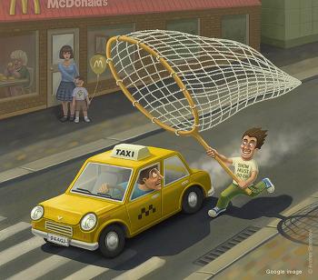영어회화 패턴 : 택시를 잡는 것이 낫겠어. 안 그러면 늦을거야