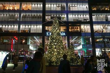 크리스마스 in 후쿠오카 #1 : 공항에서 텐진으로, 젠 하카타 라멘, 텐진 크리스마스 마켓, 다이묘 거리 쇼핑 투어, 야키토리, 크리스마스 무드