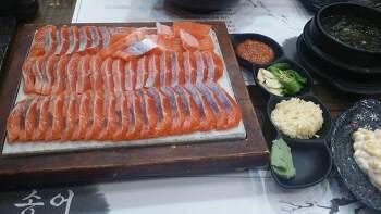 [문막맛집]송어회 명가 송어마을