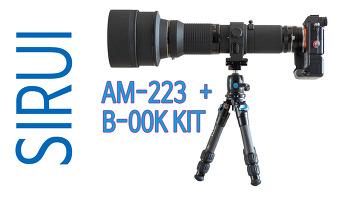시루이 AM-223+B-00K 키트 vs 레오포토 LS-223C+EB-36 비교 리뷰
