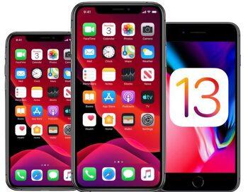 iOS 13.0 정식버전 업데이트 방법 및 내용 정리