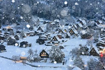 일본 눈꽃여행