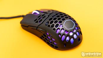 가벼운만큼 빠른 초경량!! 쿨러 마스터 MM711 RGB 게이밍 마우스