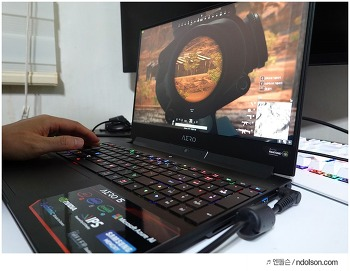 RTX 2070 그래픽카드 달린 최고의 게이밍 노트북 Aero 15X V9