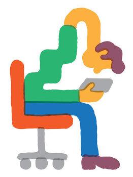 당신의 자세와 기분까지 망치는 스마트폰 사용시간 증가
