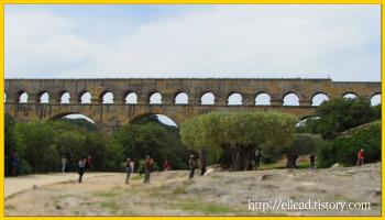 <프랑스 여행> 세계문화유산 : 가르교 (Pont de Gard)