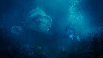 포토샵 합성 강좌 상어 (Photoshop Manipulation Tutorial  Shark)